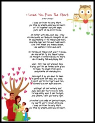 I Loved You From The Start poem