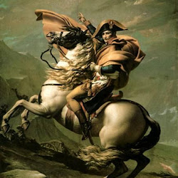 55 - David - Napoleon atravesando los Alpes
