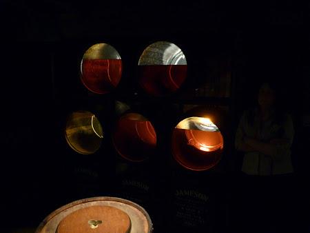 Imagini Dublin: procesul de invechire al whiskey-ului Jameson