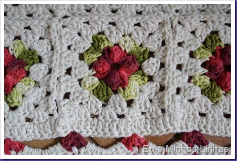 Tapete Croche Flor 1b