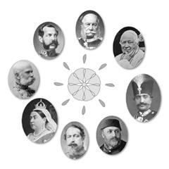 Några regenter på Bahá'u'lláhs tid