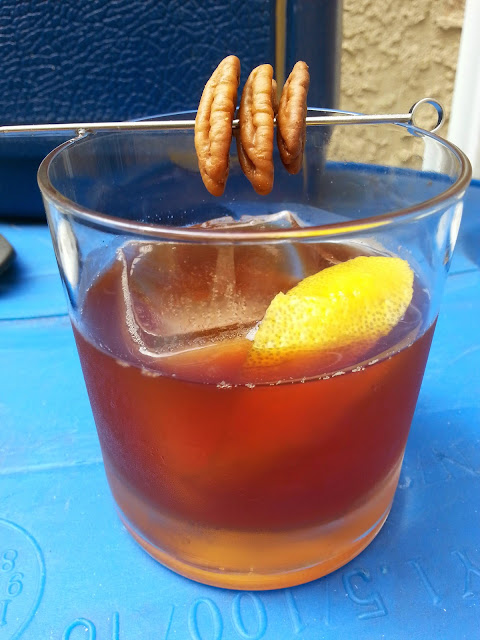 maple pecan old fashioned