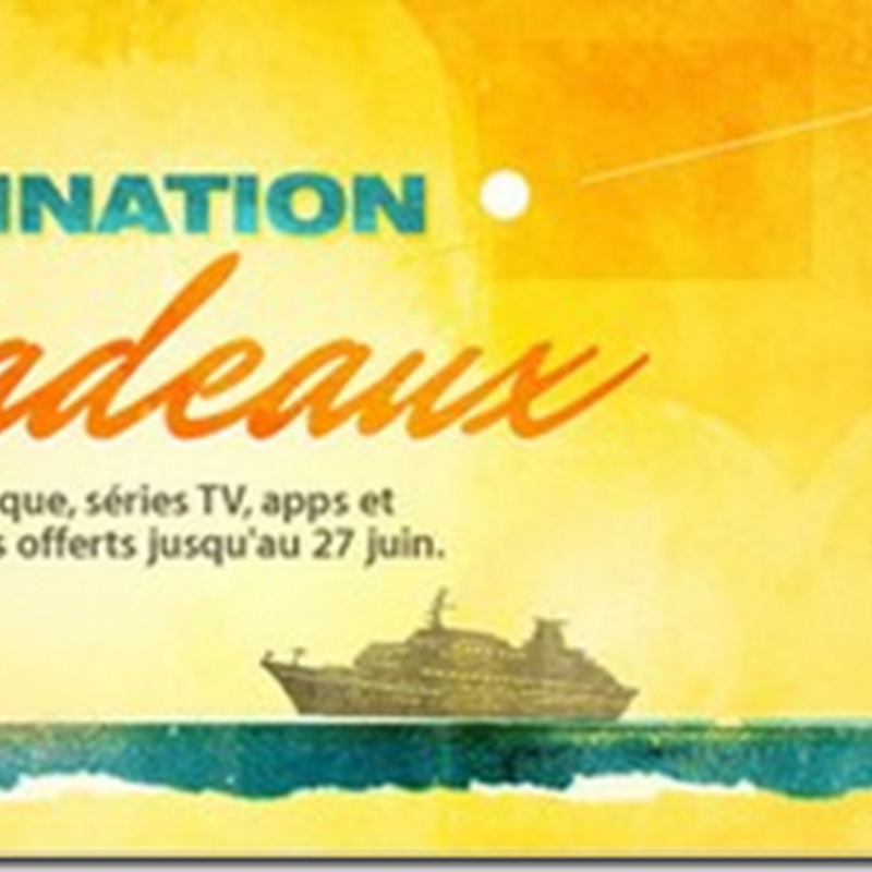Destination Cadeaux : Apple offre des appli, sries TV, mp3 et iBooks pour fter les vacances!