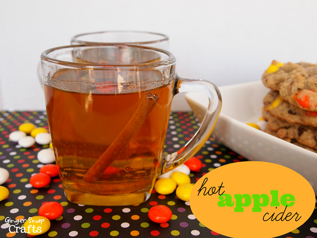 homemade apple cider #HarvestFun #spon