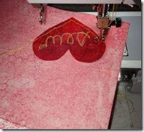 stitching valentine