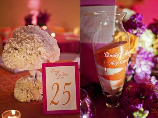 Casamento Moderno - Laranja e Pink (2)