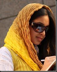 abhinaya stylish pic