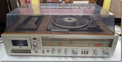 Panasonic SS270 DM, joya musical