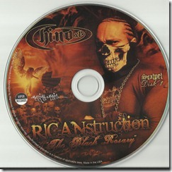 CHINO XL - RICANstruction 'The Black Rosary' (CD 1)