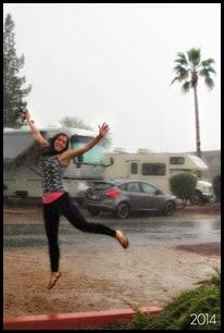 rain dancing AZ