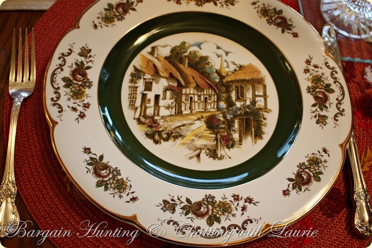 Thanksgiving Tablescape-Bargain Decorating with Laurie