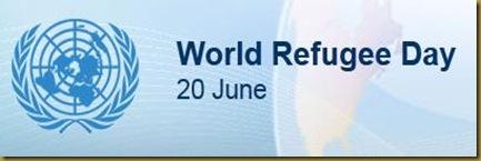 20 JUNE. WORLD REFUGE DAY. 20 ΙΟΥΝΙΟΥ- ΠΑΓΚΟΣΜΙΑ ΜΕΡΑ ΠΡΟΣΦΥΓΩΝ - 20 ЈУНИ – СВЕТСКИ ДЕН НА БЕГАЛЦИТЕ