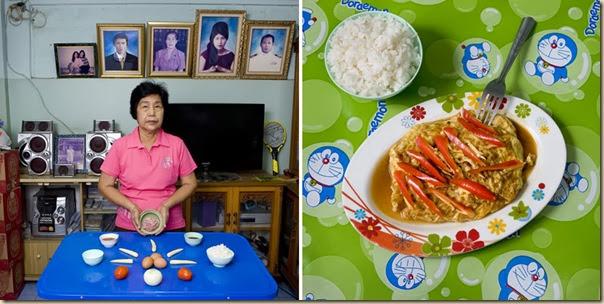 Portraits de grand-mères et leurs plats cuisinés (20)