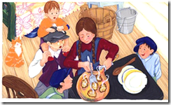 Latkes, Latkes, Good to Eat: A Chanukah Story, by Naomi Howland
