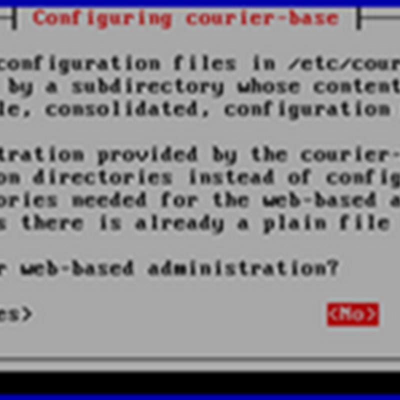 konfigurasi mail server debian