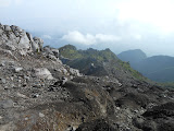 Descending from Merapi's Pasar Bubrah (Dan Quinn, December 2012)