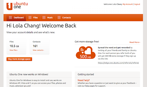 Canonical ti regala 500 mb di spazio web gratuito