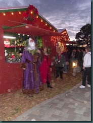Christmas Market, Cambria lights 005