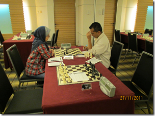 Nurul Huda vs Ruzenan, Round 4, Asian Amateur