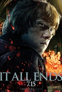 Rupert Grint is Ron Weasley - Harry Potter and the Deathly Hallows part 2