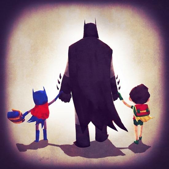 Super heróis em família 06