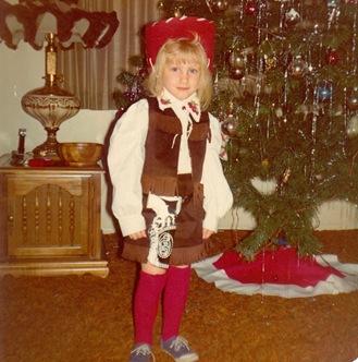 Theresa at Christmas age 6 (2)