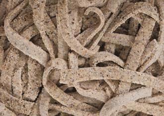 Pizzoccheri di saraceno rugosi freschi fatti in casa (picc)