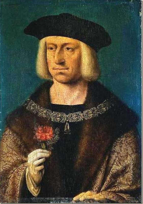 Joos Van Cleve, Portrait de l'empereur Maximilien