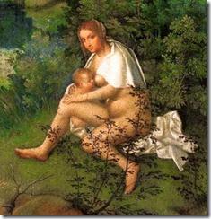 Giorgione, Der Sturm Det 2