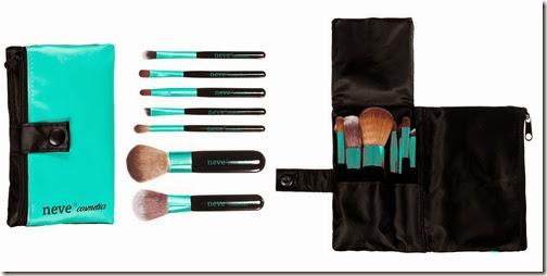 Immagine ACQUA set pennelli Neve Cosmetics