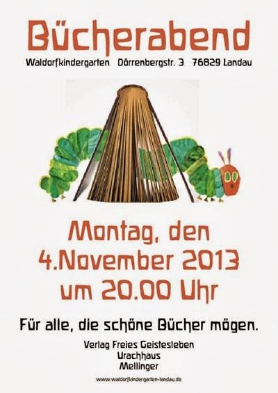 Waldorfkindergarten Bücherabend 2013