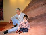 Tony and Kai at Red Rocks