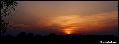 Apus de soare in Grindul Letea