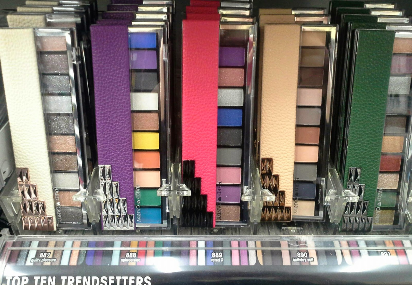 Hard Candy Birthday Suit Eye Shadow Palette Review Swatches