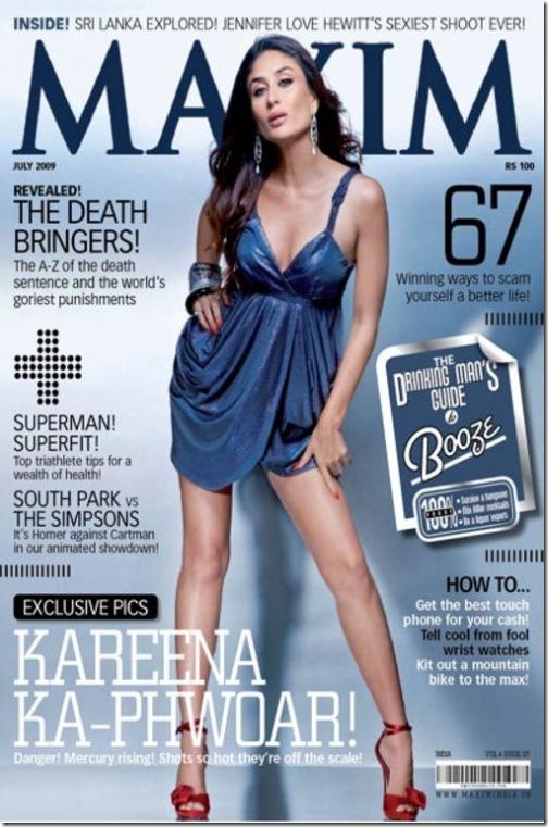 Kareena Kapoor Maxim