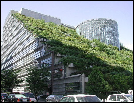 Telhado-Verde-do-Edifício-ACROS-Fukuoka-Japao