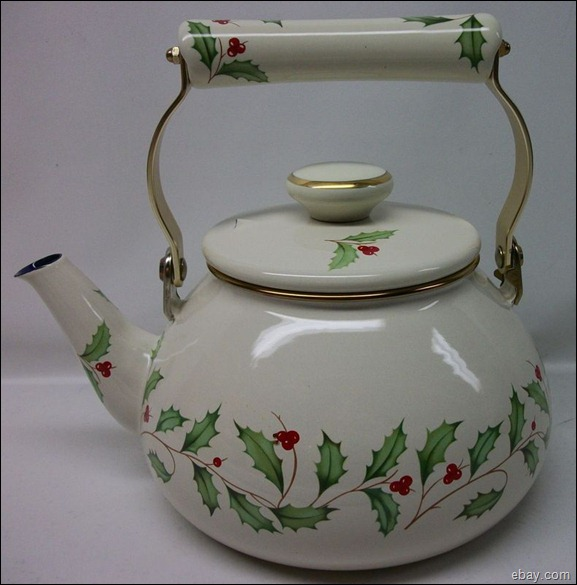 Christmas Teakettle