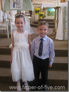 #5 of 5 and her cousin - five years later!