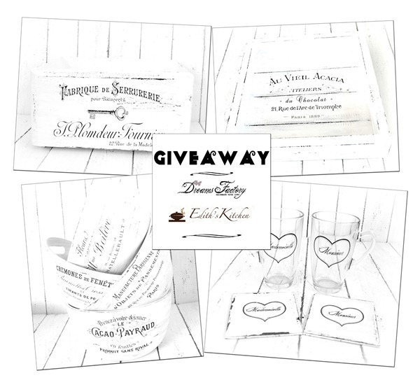 GIVEAWAY – DECORATIUNI SHABBY CHIC