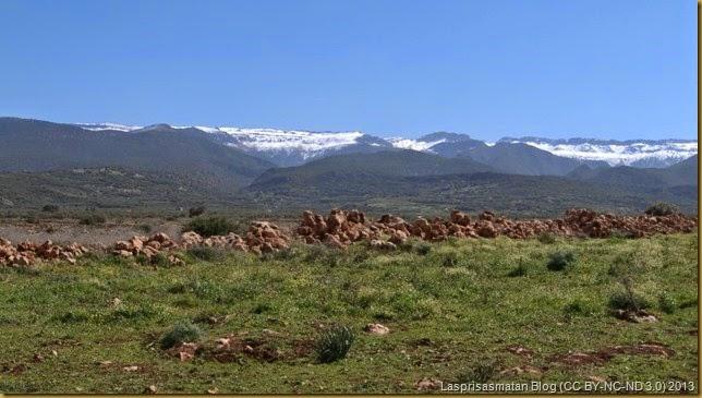 El Atlas conserva sus nieves hasta bien entrada la primavera