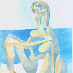 Picasso, Seated Bather