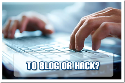 blog or hack