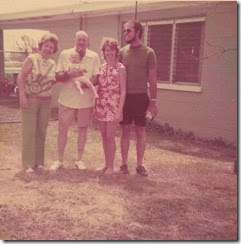Mother, Don, Haley, Sandy, Dick 1972