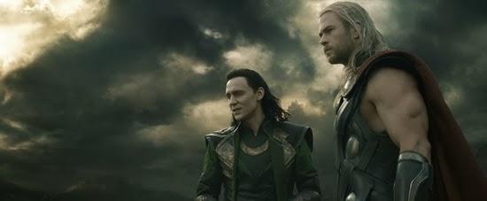 """Marvel's Thor: The Dark World""L to R: Loki (Tom Hiddleston) & Thor (Chris Hemsworth)Ph: Film Frame© 2013 MVLFFLLC. TM & © 2013 Marvel. All Rights Reserved."