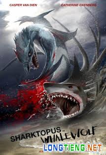 Đại Chiến Thủy Quái - Sharktopus Vs. Whalewolf Tập 1080p Full HD