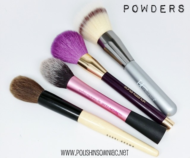 My Top 10 Makeup Brushes - Powders