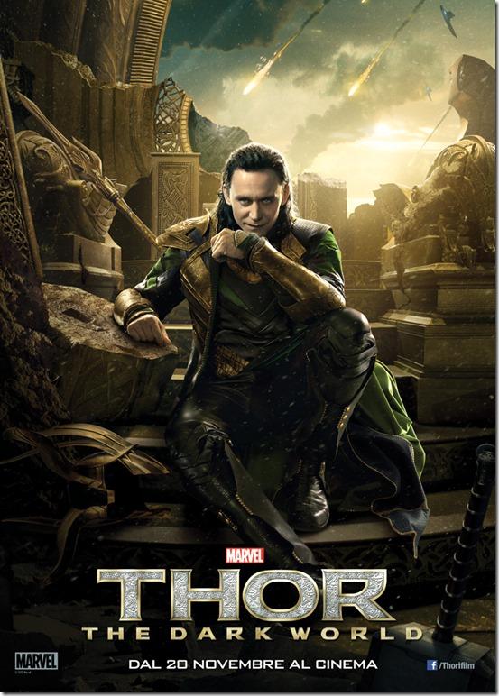 Thor 2 banner Loki