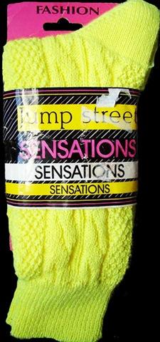 80's slouch socks