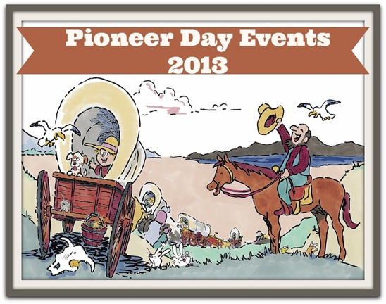 Pioneer Day Events