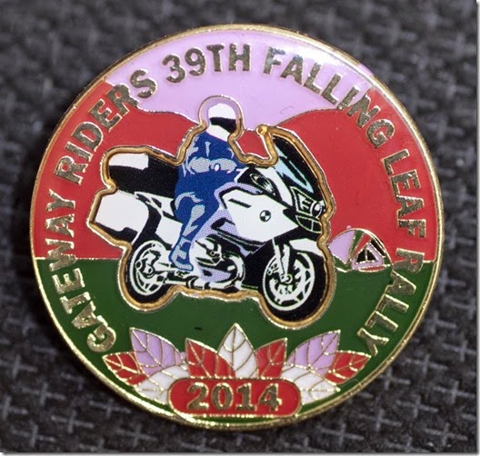 falling leaf rally pin